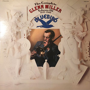 Album cover - 'The Complete Glenn Miller - Vol III'