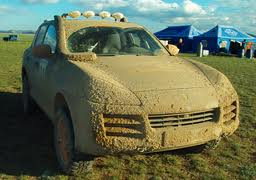 Photo of a seriously dirty car