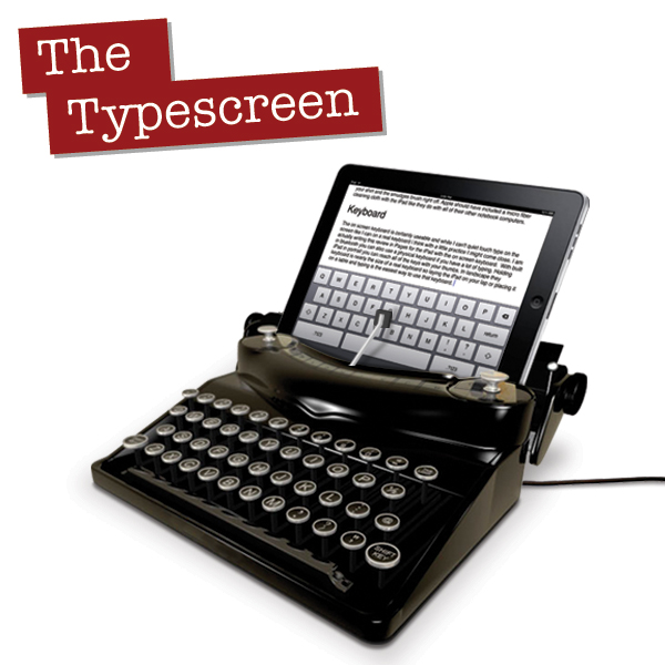 Photo - iPad Typewriter
