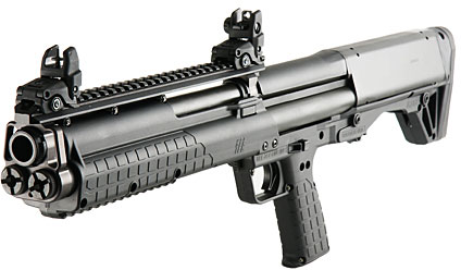 The Kel-Tec KSR shotgun