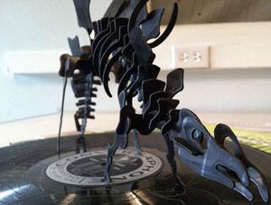 Vinyl stegasaurus