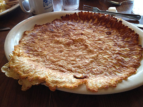 Big honkin' German pancake