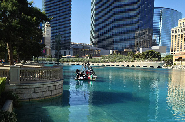 Photo of fountain cleaners