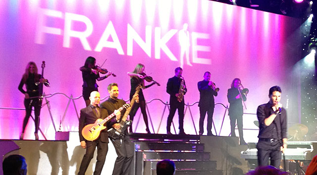Photo of Frankie Moreno and band