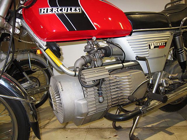 Photo of Hercules motorcycle with Wankel engine