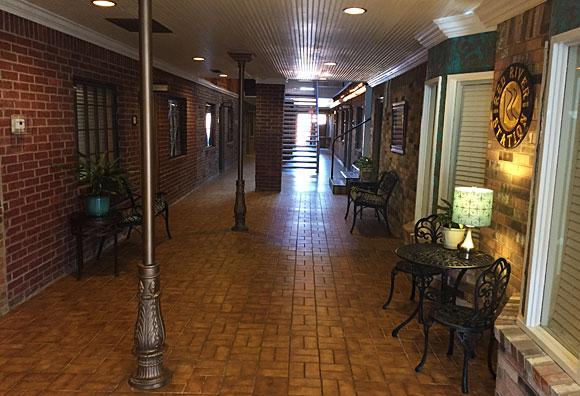 Photo - Red River Station Inn 1st floor hallway