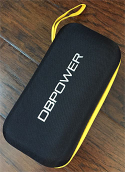 DBPOWER jump starter carry case