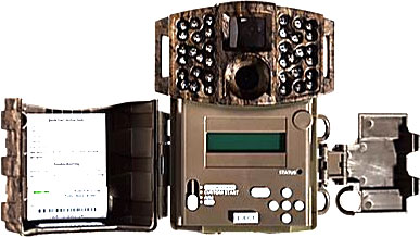 Moultrie M-888 Mini Game Camera - Open Cover