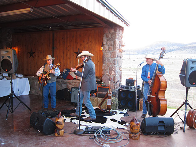 Photo of Doug Moreland and band