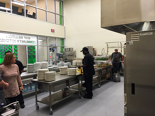 BHP Billiton Community Kitchen