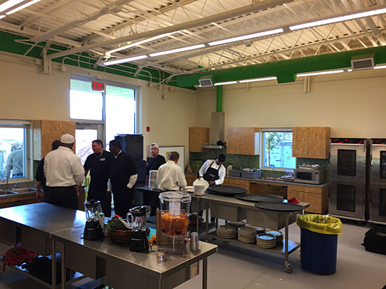 West Texas Food Bank's Midland Facility - Demonstration Kitchen