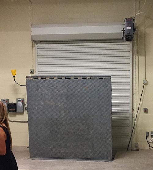 West Texas Food Bank's Midland Facility - Loading Dock