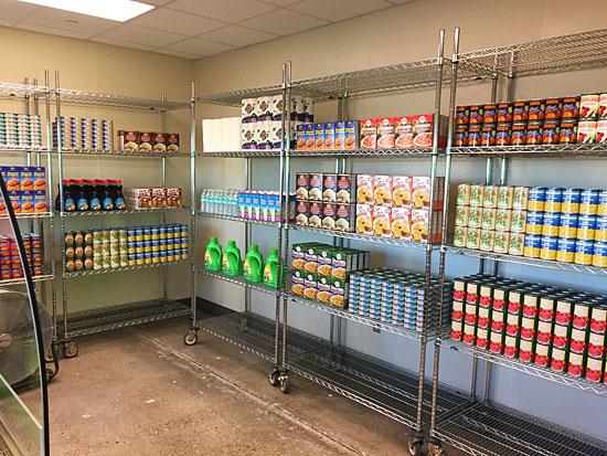 West Texas Food Bank's Midland Facility - Food Pantry