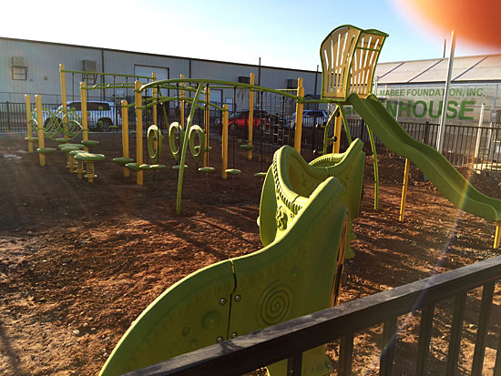 West Texas Food Bank's Midland Facility - Playground