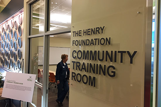 West Texas Food Bank's Midland Facility - Training Room