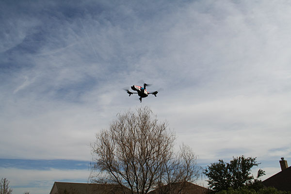 Photo - Parrot quadcopter